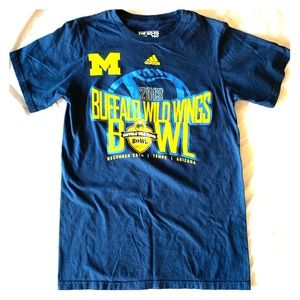 Adidas men's Michigan bowl tee shirt